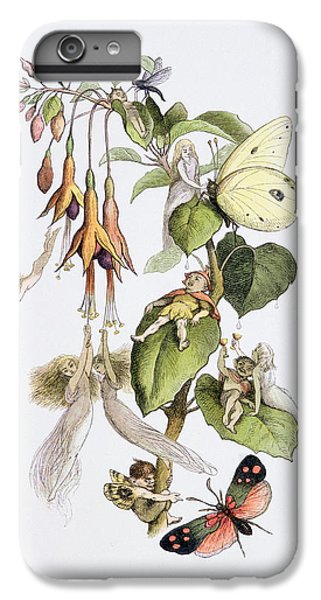 Elf iPhone 8 Plus Case - Feasting And Fun Among The Fuschias by Richard Doyle