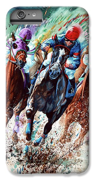 Horse iPhone 8 Plus Case - For The Roses by Hanne Lore Koehler