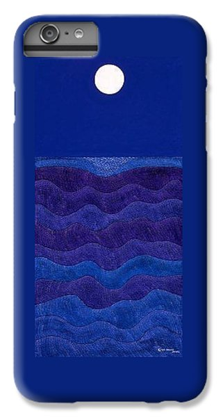 iPhone 8 Plus Case - Full Moonscape II by Synthia SAINT JAMES