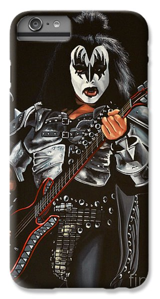 For iPhone 8 Plus Case - Gene Simmons Of Kiss by Paul Meijering