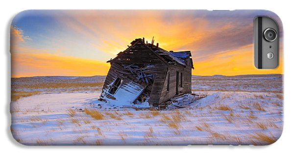 Rural Scenes iPhone 8 Plus Case - Glowing Winter by Kadek Susanto