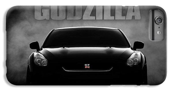 Car iPhone 8 Plus Case - Godzilla by Douglas Pittman