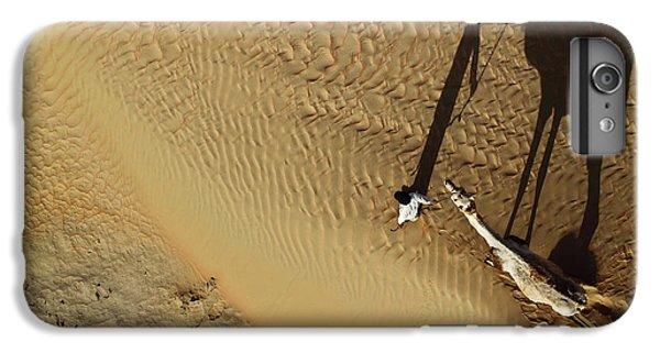 Sand iPhone 8 Plus Case - Golden Shadows by Shoayb Hesham Khattab