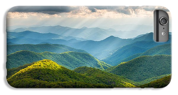 Mountain iPhone 8 Plus Case - Great Smoky Mountains National Park Nc Western North Carolina by Dave Allen