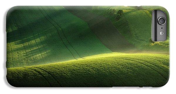 Shrub iPhone 8 Plus Case - Green Tones Of Spring by Marek Boguszak