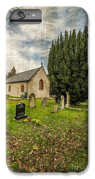 Celtic Cross iPhone 8 Plus Case - Hamlet Church by Adrian Evans