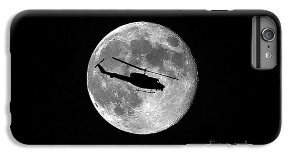 Helicopter iPhone 8 Plus Case - Huey Moon by Al Powell Photography USA