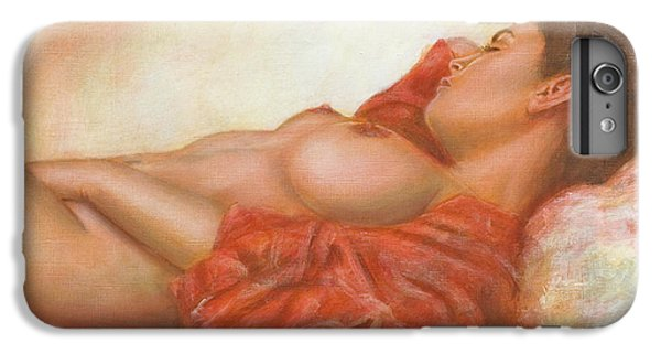 Nudes iPhone 8 Plus Case - In Her Own World by John Silver