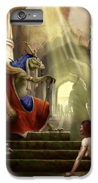 Dungeon iPhone 8 Plus Case - Inquisition by Matt Kedzierski