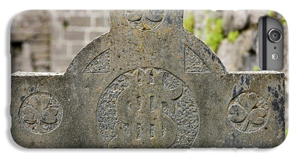 Celtic Cross iPhone 8 Plus Case - Ireland, County Mayo, Murrisk by Jaynes Gallery