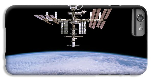 International Space Station iPhone 8 Plus Case - Iss And Space Shuttle Endeavour by Nasa/esa/science Photo Library