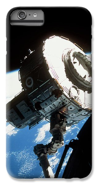 International Space Station iPhone 8 Plus Case - Iss Quest Airlock by Nasa/science Photo Library