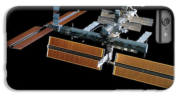 International Space Station iPhone 8 Plus Case - Iss With New Solar Panels by Nasa/science Photo Library