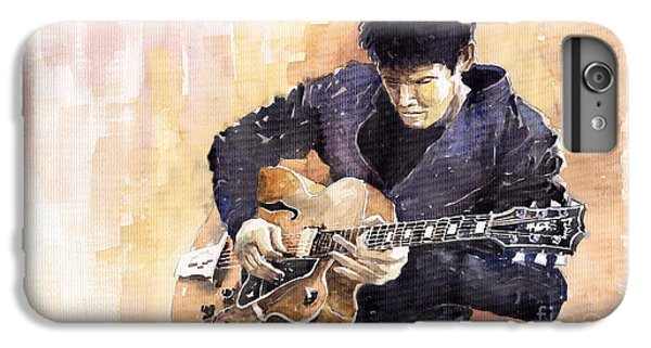 Impressionism iPhone 8 Plus Case - Jazz Rock John Mayer 02 by Yuriy Shevchuk