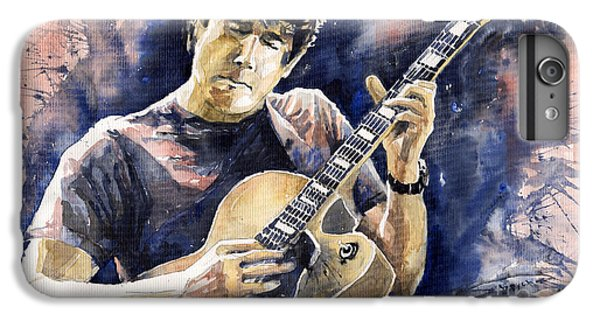 Impressionism iPhone 8 Plus Case - Jazz Rock John Mayer 06 by Yuriy Shevchuk