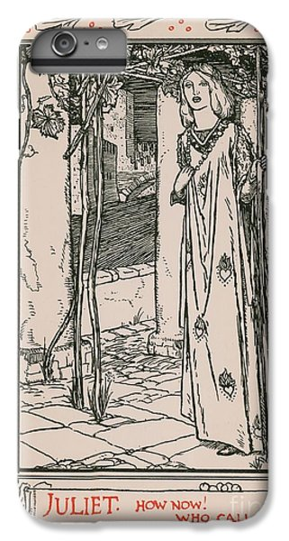 Cross iPhone 8 Plus Case - Juliet From Romeo And Juliet by Robert Anning Bell