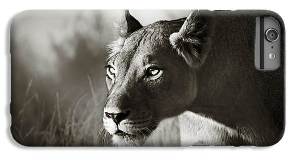 Cat iPhone 8 Plus Case - Lioness Stalking by Johan Swanepoel