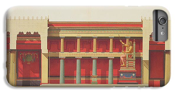 Cross iPhone 8 Plus Case - Longitudinal Section Of The Temple by Daumont