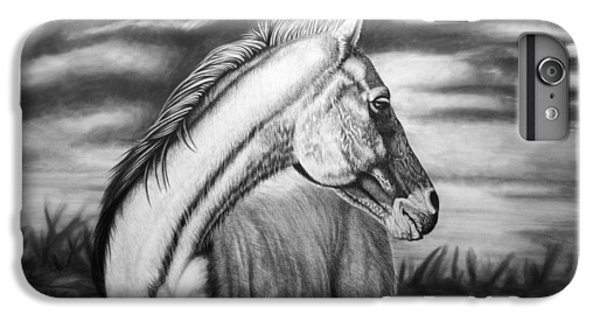 Horse iPhone 8 Plus Case - Looking Back by Glen Powell
