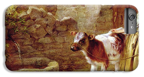 Cow iPhone 8 Plus Case - Maggie's Charge by John H Dell