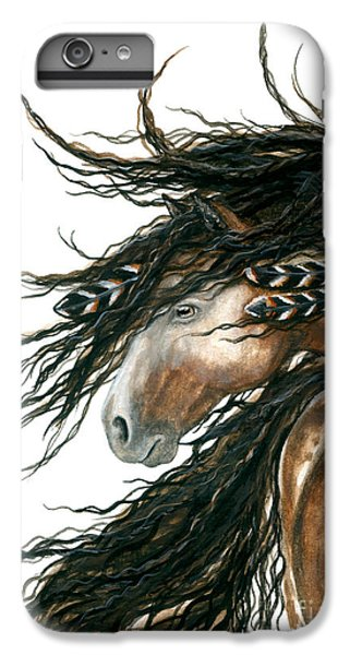 Horse iPhone 8 Plus Case - Majestic Pinto Horse 80 by AmyLyn Bihrle