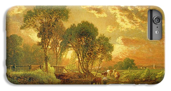 Rural Scenes iPhone 8 Plus Case - Medfield Massachusetts by Inness
