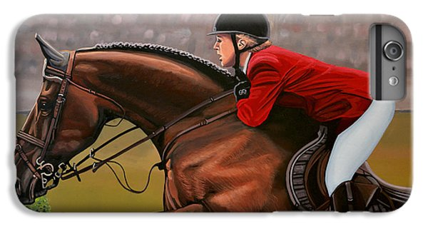 Horse iPhone 8 Plus Case - Meredith Michaels Beerbaum by Paul Meijering