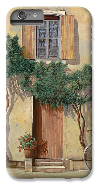 Bicycle iPhone 8 Plus Case - Mezza Bicicletta Sul Muro by Guido Borelli