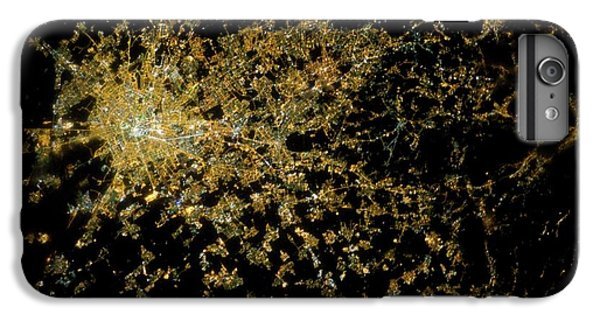 International Space Station iPhone 8 Plus Case - Milan At Night From Space by Nasa/science Photo Library