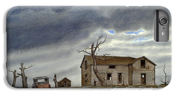 Truck iPhone 8 Plus Case - Montana Abandoned Homestead by Paul Krapf