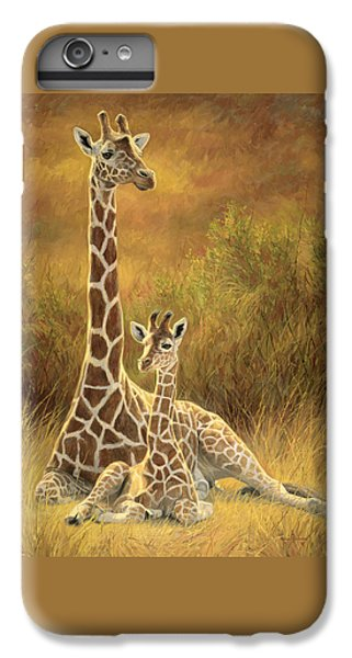 Cow iPhone 8 Plus Case - Mother And Son by Lucie Bilodeau