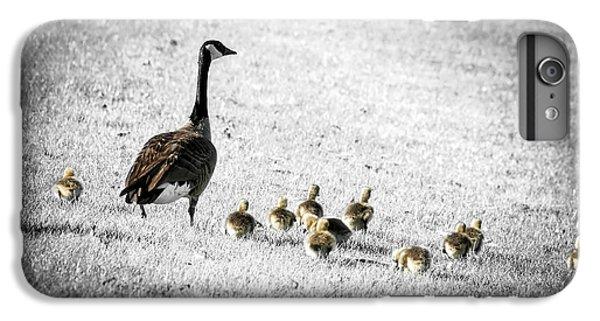 Gosling iPhone 8 Plus Case - Mother Goose by Elena Elisseeva