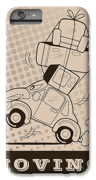Truck iPhone 8 Plus Case - Moving Car by Fun Way Illustration