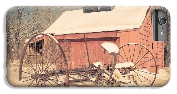New England Barn iPhone 8 Plus Case - Mt. Cube Farm Old Sugar Shack by Edward Fielding