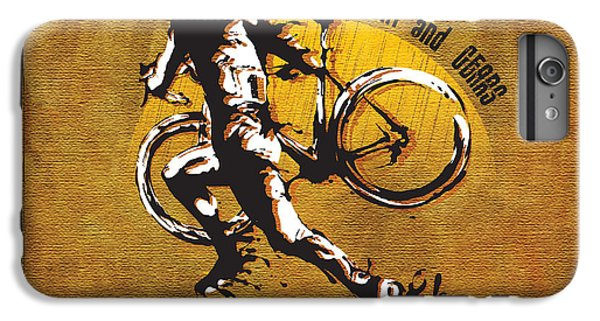Bicycle iPhone 8 Plus Case - Mud Sweat And Gears by Sassan Filsoof