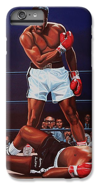 The iPhone 8 Plus Case - Muhammad Ali Versus Sonny Liston by Paul Meijering