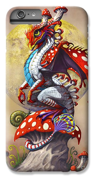 Fantasy iPhone 8 Plus Case - Mushroom Dragon by Stanley Morrison