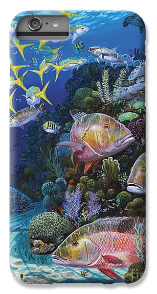 Scuba Diving iPhone 8 Plus Case - Mutton Reef Re002 by Carey Chen