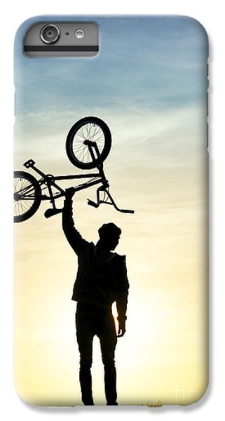 Bicycle iPhone 8 Plus Case - Bmx Biking by Tim Gainey