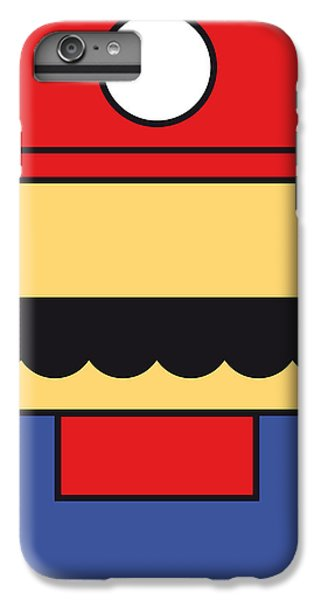 Castle iPhone 8 Plus Case - My Mariobros Fig 01 Minimal Poster by Chungkong Art
