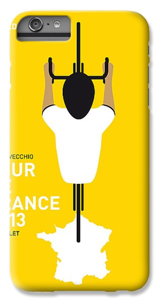 Bicycle iPhone 8 Plus Case - My Tour De France Minimal Poster by Chungkong Art