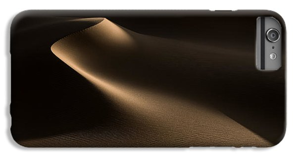Sand iPhone 8 Plus Case - Natural Curves (namib Desert) by Xenia Ivanoff-erb