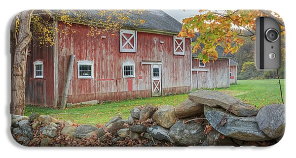 New England Barn iPhone 8 Plus Case - New England Barn by Bill Wakeley