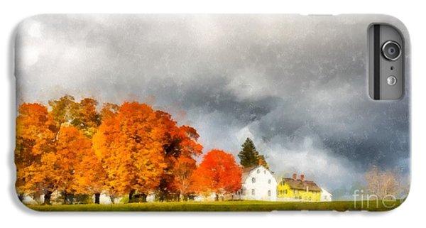 New England Barn iPhone 8 Plus Case - New England Village by Edward Fielding