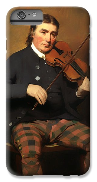 Violin iPhone 8 Plus Case - Niel Gow - Violinist And Composer by Mountain Dreams