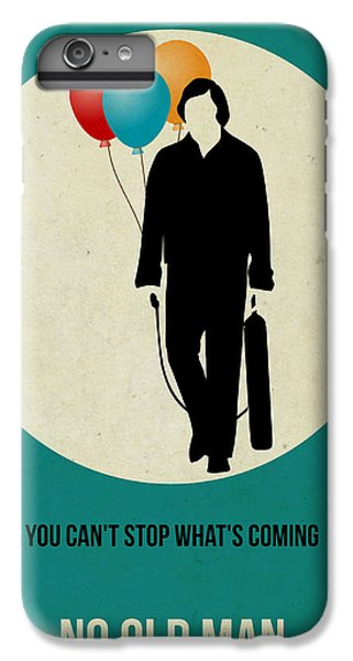 For iPhone 8 Plus Case - No Country For Old Man Poster 2 by Naxart Studio