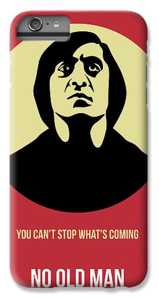 For iPhone 8 Plus Case - No Country For Old Man Poster 3 by Naxart Studio