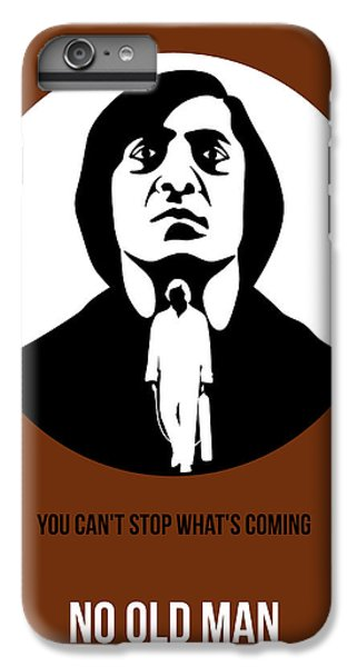 For iPhone 8 Plus Case - No Country For Old Man Poster 4 by Naxart Studio