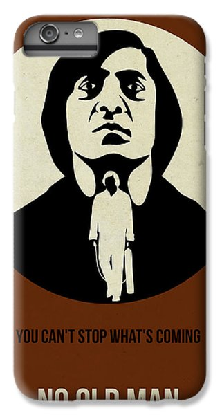 For iPhone 8 Plus Case - No Country For Old Man Poster by Naxart Studio