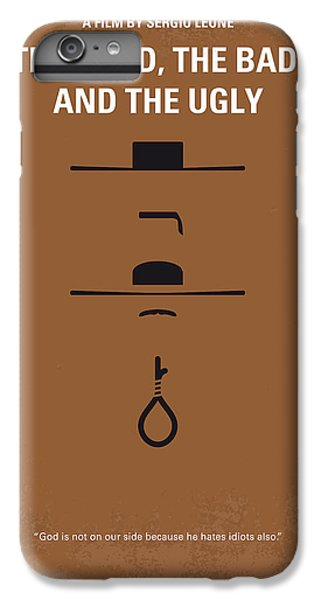 The iPhone 8 Plus Case - No090 My The Good The Bad The Ugly Minimal Movie Poster by Chungkong Art
